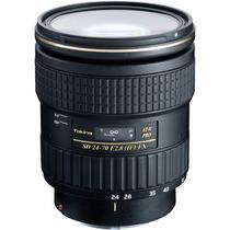 Obj. Tokina 24-70mm 2.8 Pro Fx P/ Canon E P/ Nikon