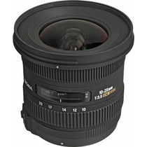 Lente Sigma 10-20mm F3.5 Ex Dc Hsm P/ Nikon + Filtro Uv