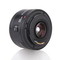 Lente Yongnuo Ef 50mm F/1.8 Eos F1.8 Para Canon + Nf