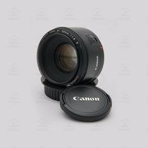Lente Objetiva Canon Ef 50mm F/ 1.8 Ii T3i T4i 40d 50d 60d