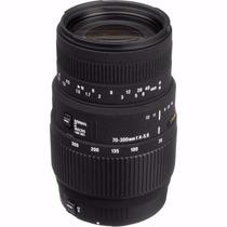 Lente Sigma 70-300mm F/4-5.6 Dg Macro Autofoco Canon