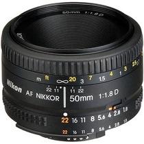 Lente Nikon Normal Af Nikkor 50mm F/1.8d