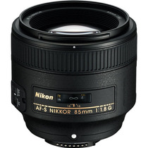 Objetiva Nikon Af-s 85mm F/1.8g