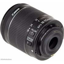 Lente Canon Ef-s 18-55mm F/3.5-5.6 Is Stm Kit Pront Entrega