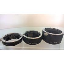 Tubo Extensor Com Conectores Para Macro Canon Made In Japan