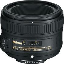 Lente Nikon Af-s Nikkor 50mm F/1.8g + Filtro Uv