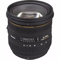 Sigma Lente 24-70mm F2.8 If Exdg Hsm Autofoco/ Canon E Nikon
