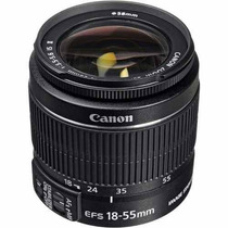 Lente Objetiva Canon Ef-s 18-55mm F3.5/5.6 Is Ii