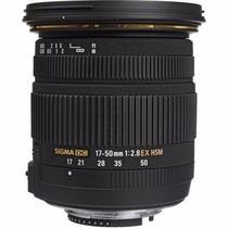 Objetiva Sigma 17-50mm F/2.8 Ex Dc Os Hsm Nikon Retirada!!!