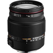 Lente Sigma Canon 18-200mm F/3.5-6.3 Ii Dc Os Hsm