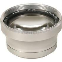 Lente Auxiliar Sunpak Tele 2x De 37mm Para Filmadoras