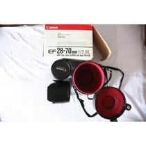 Canon 28-70mm F/2.8 L Usm - Ótimas Condições