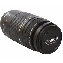 Lente Canon Ef 75-300mm F/4-5.6 Iii Usm Zoom Auto Foco Ultra