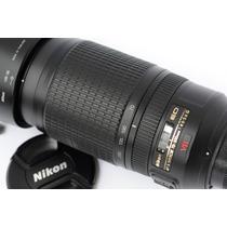 Lente Zoom Nikon Af-s 70-300mm Vr Lindal! Similar A 55-300mm