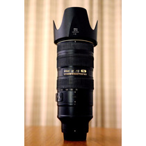 Lente Profissional Nikon 70-200 2.8 Vr 2