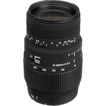 Lente Sigma Canon 70-300mm F/4-5.6 Dg Macro