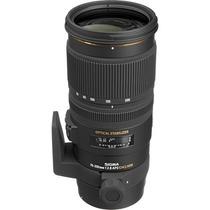 Lente Sigma 70-200mm F/2.8 Ex Dg Os P/ Nikon + Nota Fiscal