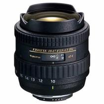 Lente Tokina X107 10-17mm Fisheye P/ Canon