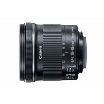 Lente Canon 10-18mm 4.5-5.6 Is Stm P. Entrega Frete Gratis