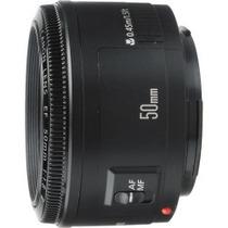 Lente Canon Ef 50mm F/1.8 Ii A Pronta Entrega!!