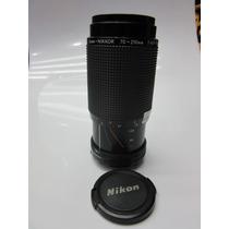 Lente Nikon Ais Zoom 70- 210 Mm F4,5-5,6