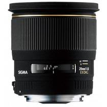 Lente Sigma Canon 28mm F/1.8 Ex Dg Df Grande Angular