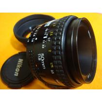 Lente Nikon 50mm 1.8 - Af