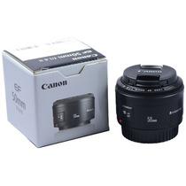 Lente Canon 50mm F/1.8 Ii Nova P/ T2i T3i T4i 60d 7d 5d Mkii