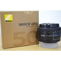 Lente Nova Nikon Nikkor 50mm F/1.8d Garantia Mercadoplatinum