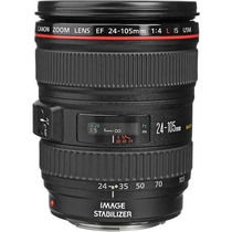 Lente Canon Ef 24-105 F/4i Is Usm Ultrasonic+filtro Uv Em Sp