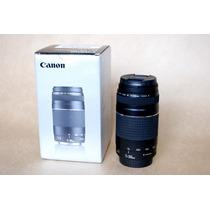 Lente Canon Ef 75-300mm F4-5.6 Iii - Nova Na Caixa