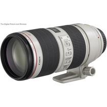 Lente Canon Ef 70-200mm F/2.8l Is Ii Usm Garantia Canon Br