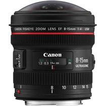Lente Canon Ef 8-15mm F/4l Fisheye Usm ( Sedex Grátis)