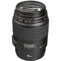 Lente Canon Ef 100mm F/2.8 Macro Usm Garantia Canon Brasil