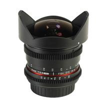 Lente Samyang 8mm Tcine T3.8 Fisheye Rokinon Nikon Nota Fisc