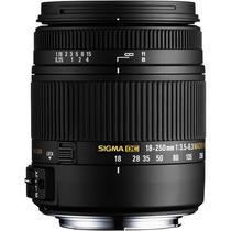 Lente Sigma 18-250mm F3.5-6.3 Dc Os P/ Nikon + Nota Fiscal