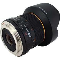 Lente Samyang 14mm F/2.8 Rokinon Para Canon Nota Fiscal
