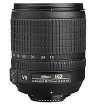 Lente Nikon 18-105mm F/3.5-5.6g Garantia De 1 Ano+nota Fical