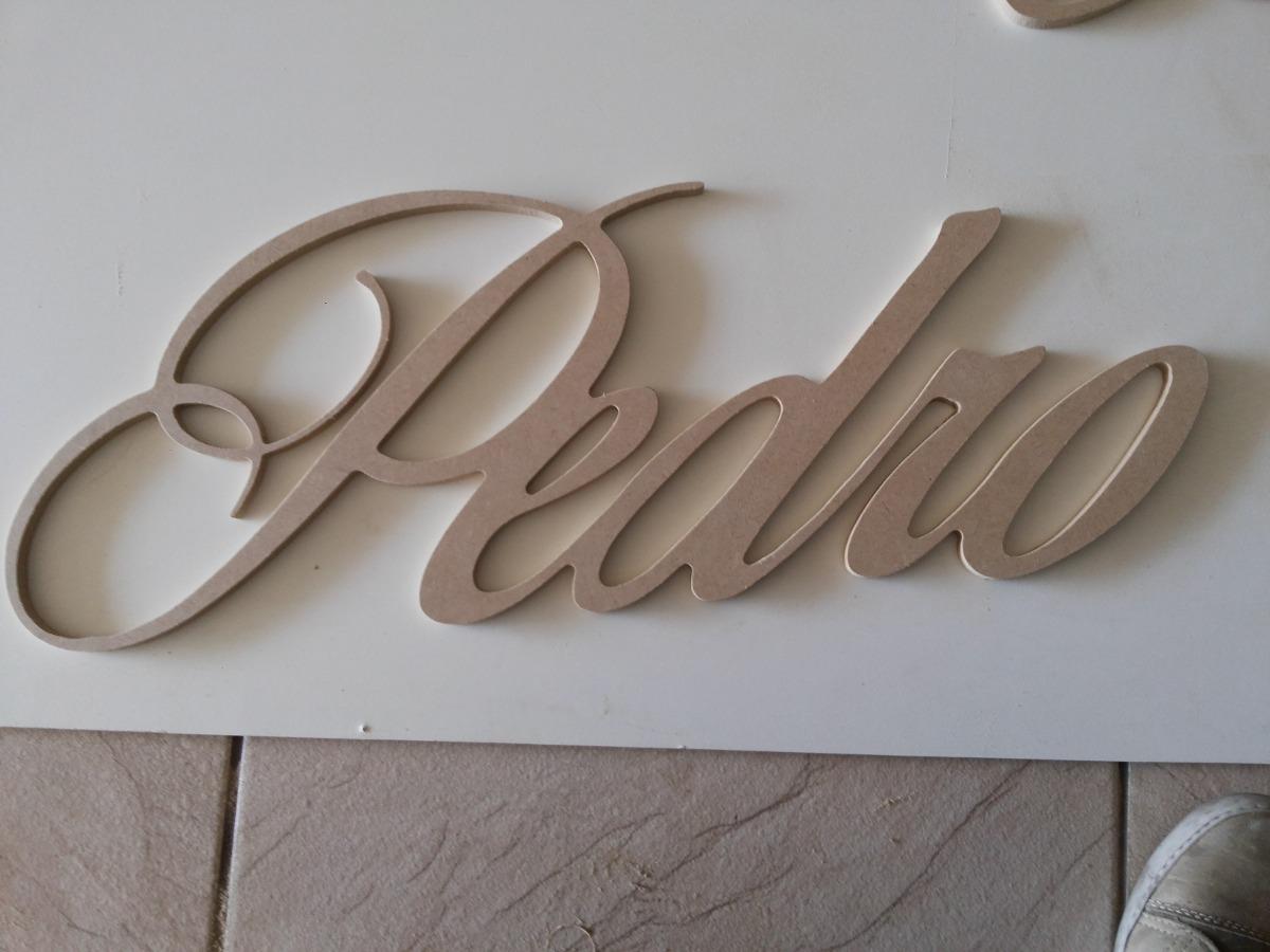 letras nome em madeira mdf 6mm #45382F 1200x900