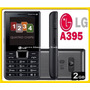 Celular Lg A395 Quadri Chip Rádio Fm E Mp3 +sd 2gb