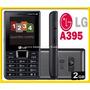 Celular Lg A395 Quadri Chip Rádio Fm E Mp3 +sd 2gb