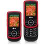 Celular Lg Kp260c Vermelho C/ Preto - Gsm C/ Câmera De 1.3mp