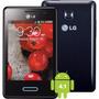 Smartphone Lg Optimus L3 Ii Preto - Android 4.1 3g