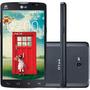 Smartphone Dual Chip Lg L80 Desbloqueado Preto Android 4.4 3
