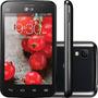 Lg E465 L4 Preto Tv Digital Android 4gb Cam 3mp I Vitrine