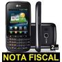 Smartphone Lg Optimus Pro C660 Android 2.3 Wi-fi - Novo