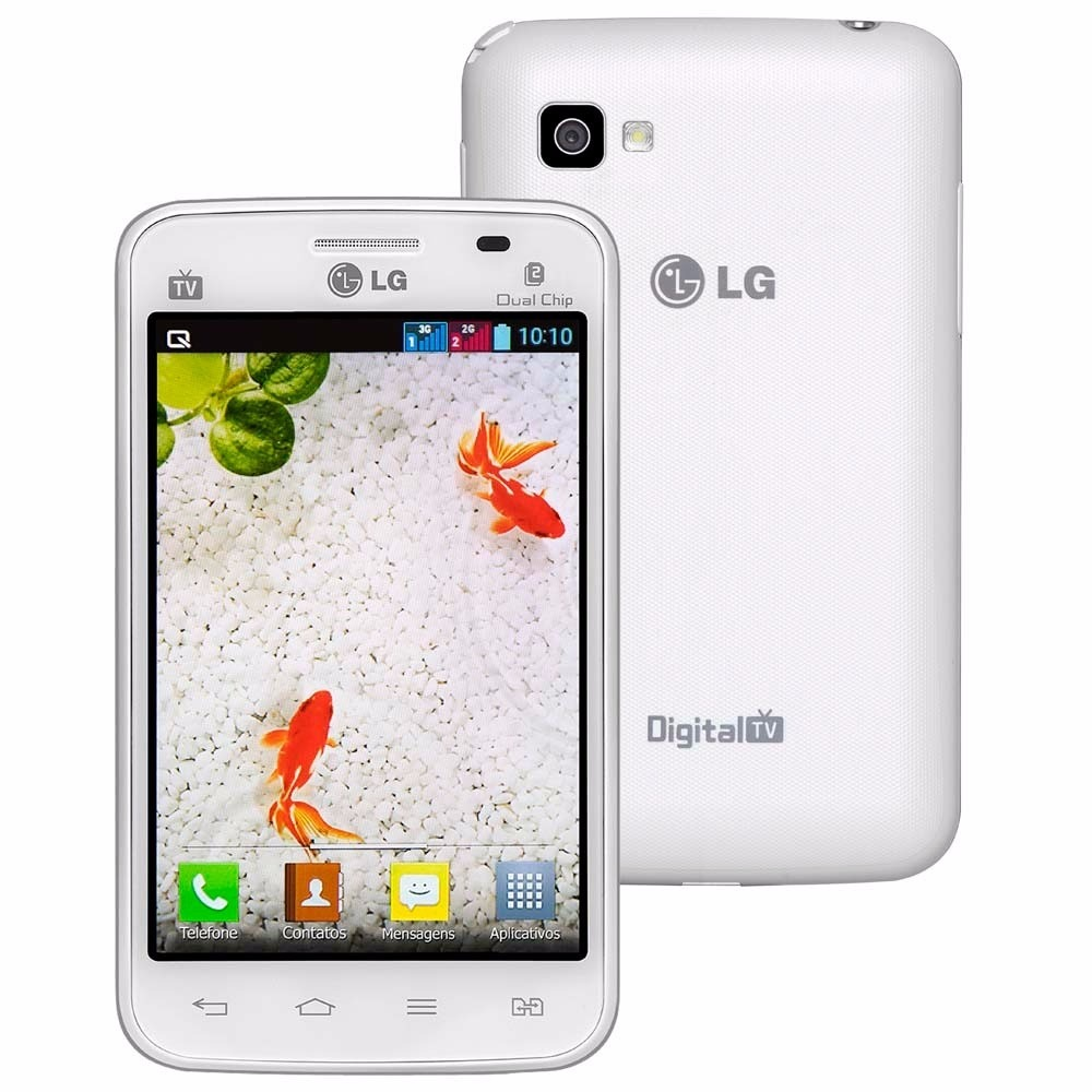Lg Optimus L4 Ii E467 3mp Dual Chip Tv Android 41 1ghz
