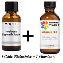 Kit 1 Ácido Hialurônico + 1 Vitamina C 20% Ganhe 1 Botox 3d