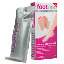 Footner Meias Esfoliantes 1 Par- Pés Com Pele De Bebê