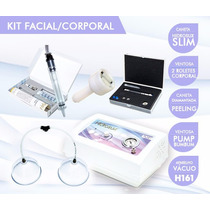 Kit Facial E Corporal - Massagem, Peeling, Pump, Extrator